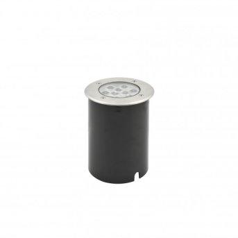 Konstsmide Bodeneinbaustrahler LED Aluminium, 9-flammig