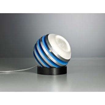 Tecnolumen Bulo Tischleuchte LED Blau, 1-flammig