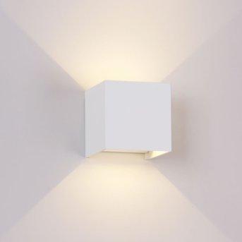 Mantra DAVOS Außenwandleuchte LED Weiß, 1-flammig