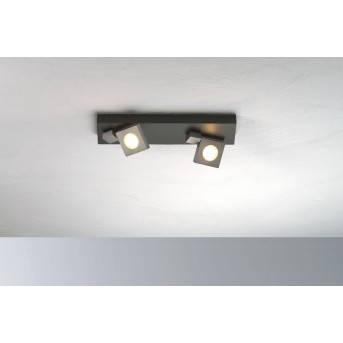 Bopp Flash Deckenleuchte LED Schwarz, Anthrazit, 2-flammig