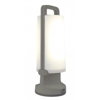 Lutec DRAGONFLY Solartischleuchte LED Silber, 1-flammig