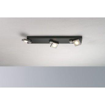 Bopp Flash Deckenleuchte LED Schwarz, Anthrazit, 3-flammig