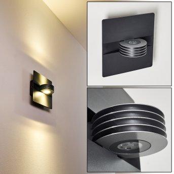 Haslen Außenwandleuchte LED Anthrazit, 1-flammig