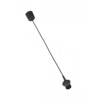 Brilliant Schnurpendel für Schirme Schwarz, 1-flammig