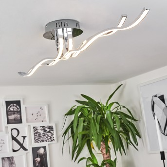 Corato Deckenleuchte LED Chrom, 1-flammig