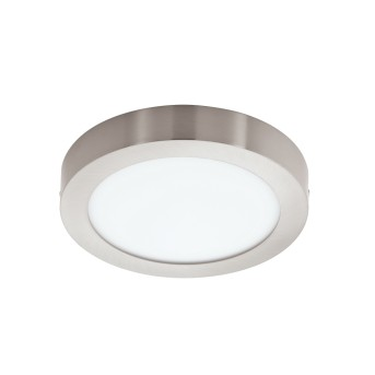Eglo FUEVA-C Deckenleuchte LED Nickel-Matt, 1-flammig, Farbwechsler