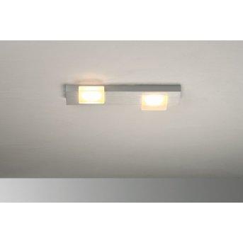 Bopp Lamina Deckenleuchte LED Aluminium, 2-flammig