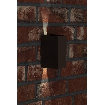 AEG Adapt Außenwandleuchte LED Anthrazit, 2-flammig