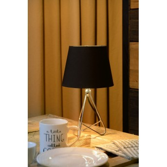 Lucide GITTA Tischlampe Chrom, 1-flammig