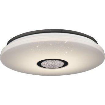 Nino Leuchten ALBURY Deckenleuchte LED Weiß, 1-flammig