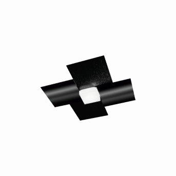 Grossmann CREO Deckenleuchte LED Schwarz, 1-flammig