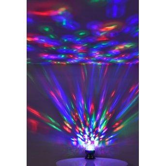 Leuchten Direkt DISCO Tischleuchte LED Schwarz, 1-flammig, Farbwechsler