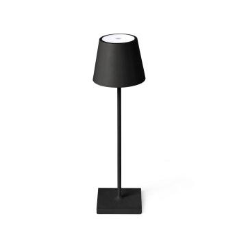 Faro Barcelona Toc Außentischleuchte LED Schwarz, 1-flammig