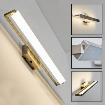 Tilting Wandleuchte LED Nickel-Matt, 1-flammig