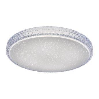 Leuchten Direkt Ls-FRIDA Deckenleuchte LED Transparent, Klar, 1-flammig, Fernbedienung, Farbwechsler