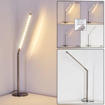 Deje Tischleuchte LED Nickel-Matt, 1-flammig