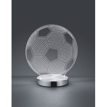 Reality BALL Tischleuchte LED Chrom, 1-flammig