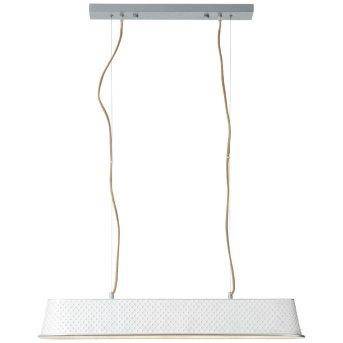 Brilliant Leuchten Sudo Pendelleuchte Weiß, 4-flammig