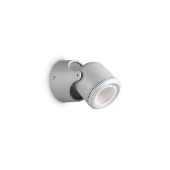 Ideal Lux XENO Aussenwandleuchte Grau, 1-flammig