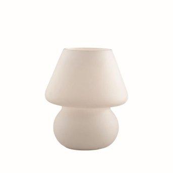 Ideal Lux PRATO Tischleuchte Weiß, 1-flammig
