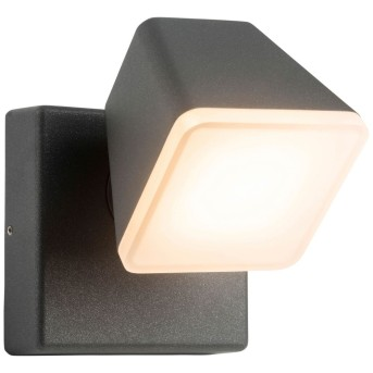 AEG Isacco Außenwandleuchte LED Anthrazit, 1-flammig