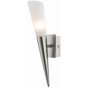 Nino Leuchten RIVERPOOL Wandleuchte LED Nickel-Matt, 1-flammig