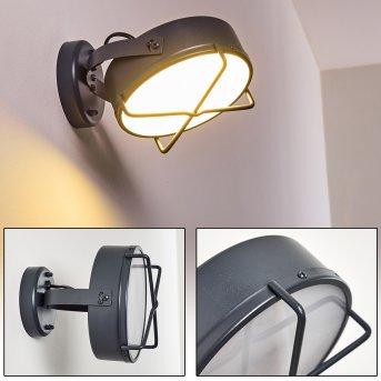 Gotter Außenwandleuchte LED Anthrazit, 1-flammig