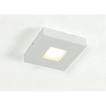 Bopp Leuchten Cubus Deckenleuchte LED Weiß, 1-flammig