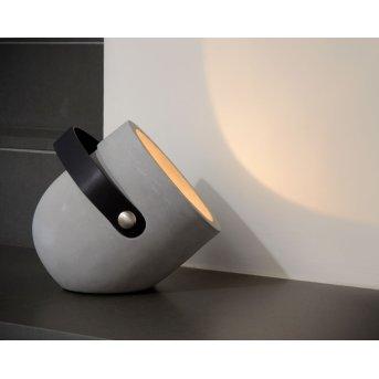 Lucide COPAIN Tischlampe Lila, 1-flammig