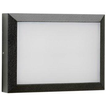 Albert Leuchten 6403 Außenwandleuchte LED Schwarz, 1-flammig