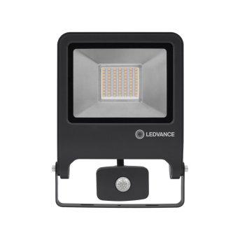 LEDVANCE POLYBAR Außenwandleuchte Grau, 1-flammig, Bewegungsmelder