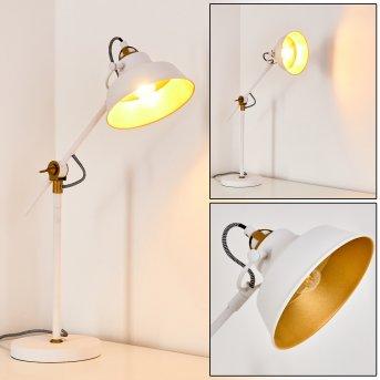Luven Tischleuchte LED Weiß, 1-flammig