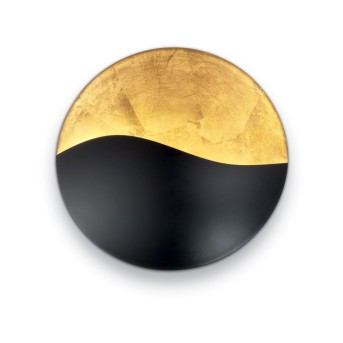 Ideal Lux SUNRISE Wandleuchte Schwarz, Gold, 4-flammig