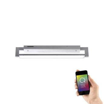 Paul Neuhaus Q-Matteo Wand- und Deckenleuchte LED Aluminium, 1-flammig, Fernbedienung