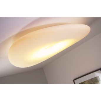 Linea Light Mr.Magoo Deckenleuchte Weiß, 1-flammig