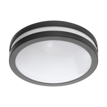 Eglo connect LOCANA Deckenleuchte LED Anthrazit, 1-flammig