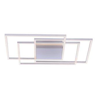 Paul Neuhaus INIGO Deckenleuchte LED Edelstahl, 3-flammig