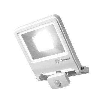 LEDVANCE POLYBAR Außenwandleuchte Weiß, 1-flammig, Bewegungsmelder