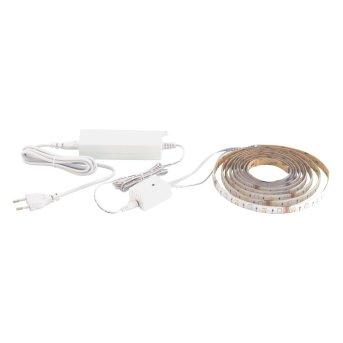 EGLO LED-STRIPE-A Leuchtband Weiß, 1-flammig, Fernbedienung