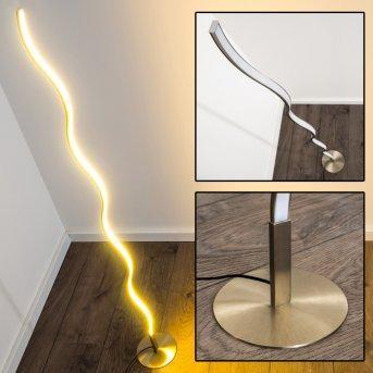 Dillon Stehlampe LED Nickel-Matt, 1-flammig