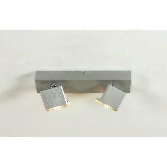 Bopp Leuchten Elle LED Deckenspot Aluminium, 2-flammig