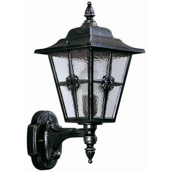 Albert Leuchten 804 Wandleuchte Schwarz, Silber, 1-flammig