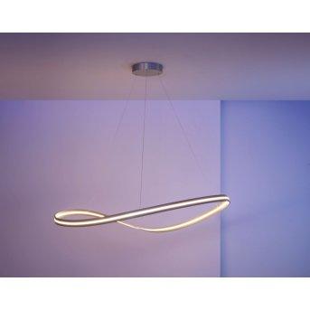 Escale Infinity Pendelleuchte LED Nickel-Matt, 1-flammig