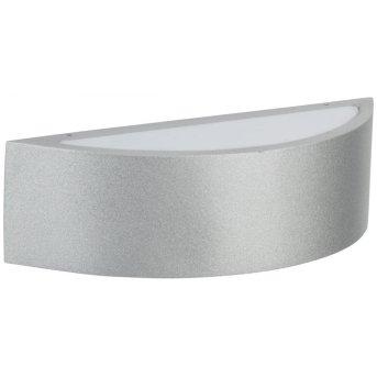 Albert Leuchten 6322 Außenwandleuchte LED Silber, 2-flammig