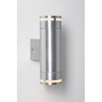 Nordlux CAN Wandleuchte Aluminium, 2-flammig