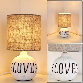 Seon LOVE Tischleuchte Weiß, 1-flammig