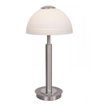 Wofi CLASS Tischleuchte LED Nickel-Matt, 1-flammig