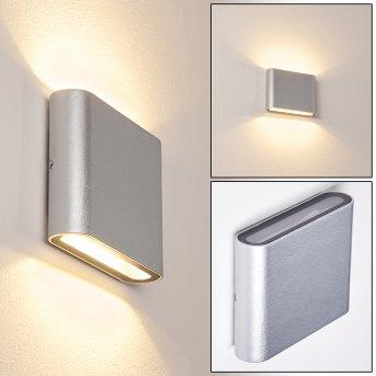 Tinglev Wandleuchte LED Silber, 2-flammig