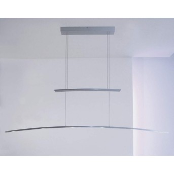 Bopp ARCO Hängeleuchte LED Aluminium, 6-flammig