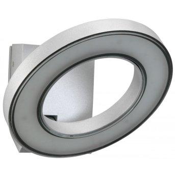 Albert Leuchten 210 Außenwandleuchte LED Silber, 1-flammig